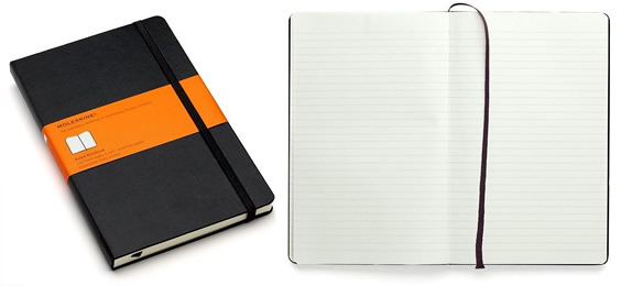 Moleskine Notebooks in Cape Town