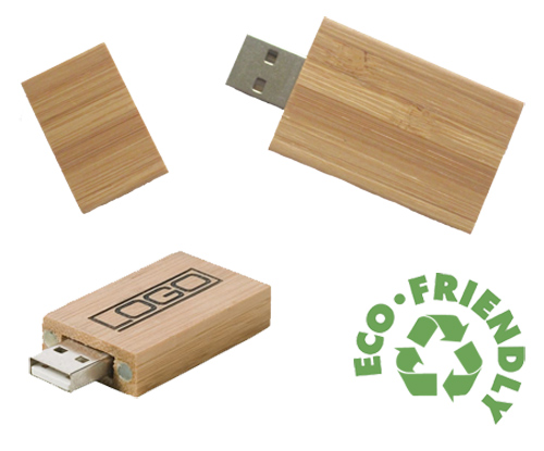 Bamboo USB wooden flash drive