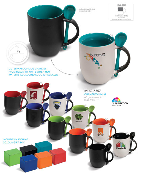 colour changing coffee mugs