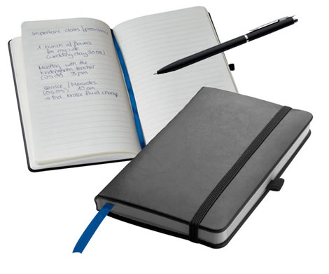 soft cover notebook classic