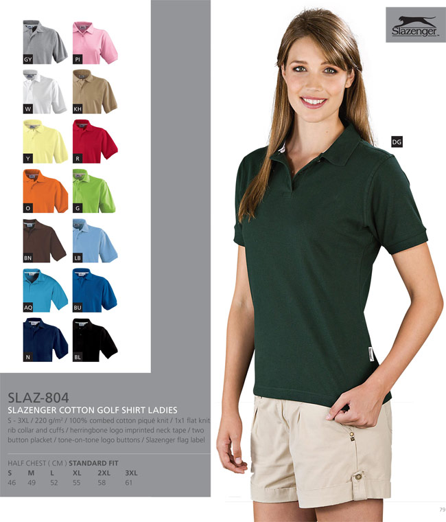 Slazenger Golf Shirts Cape Town