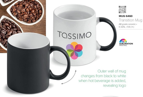 Transition Colour Changing Mugs